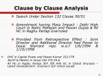 clause by clause analysis26