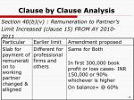 clause by clause analysis6
