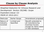 clause by clause analysis8