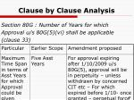 clause by clause analysis9