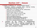 section 147 issues1