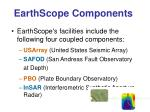 earthscope components