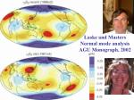 laske and masters normal mode analysis agu monograph 2002