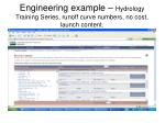 engineering example hydrology training series runoff curve numbers no cost launch content