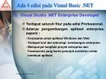 ada 4 edisi pada visual basic net2