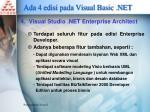 ada 4 edisi pada visual basic net3