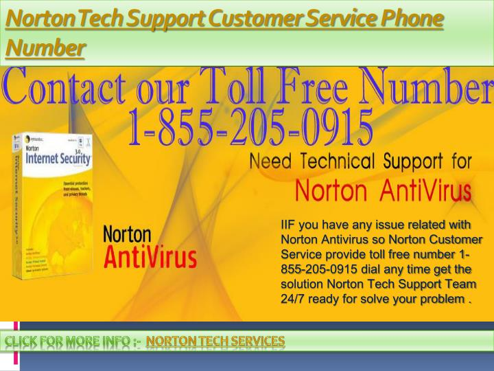 norton tech support customer service phone number n.