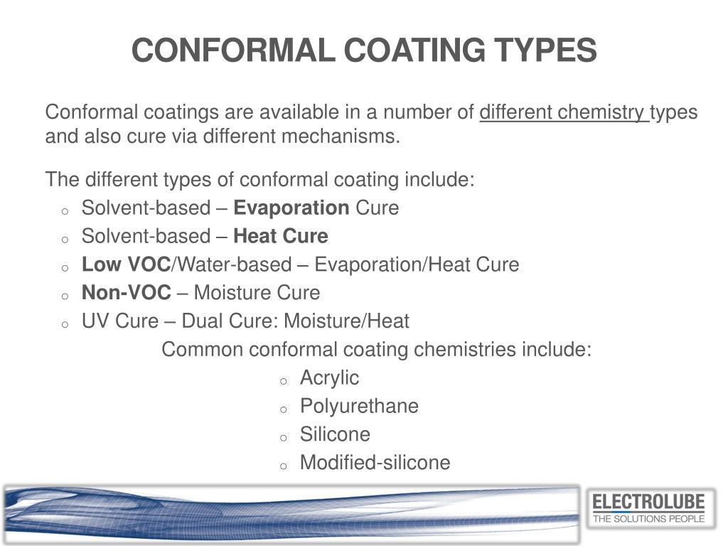 Coatings Like Heat Cure Conformal Coatings Or The Circuit Board