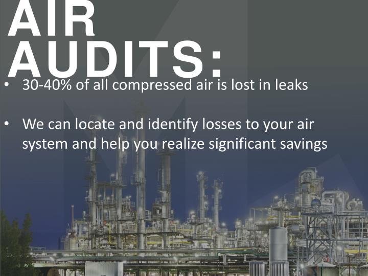 AIR AUDITS: