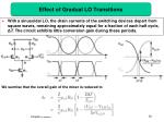effect of gradual lo transitions