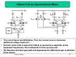 gilbert cell as upconversion mixer
