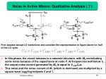 noise in active mixers qualitative analysis