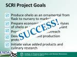 scri project goals3