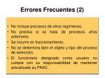 errores frecuentes 2