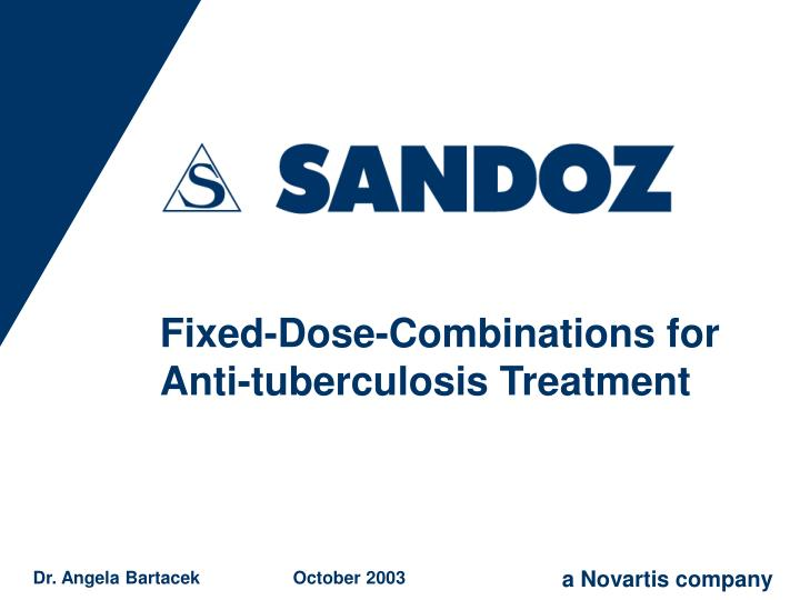 fixed dose combinations for anti tuberculosis treatment n.