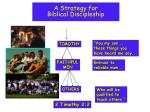 a strategy for biblical discipleship