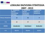lokalna razvojna strategija 2007 20131