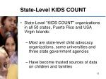 state level kids count