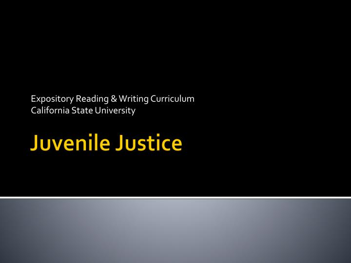 expository reading writing curriculum california state university n.