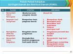 pokok pokok kebijakan uu pajak daerah dan retribusi daerah pdrd