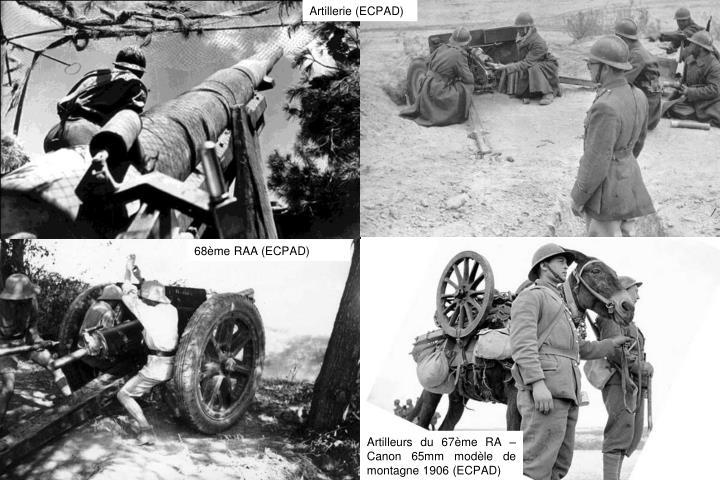 Artillerie (ECPAD)