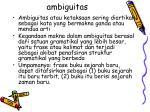 ambiguitas