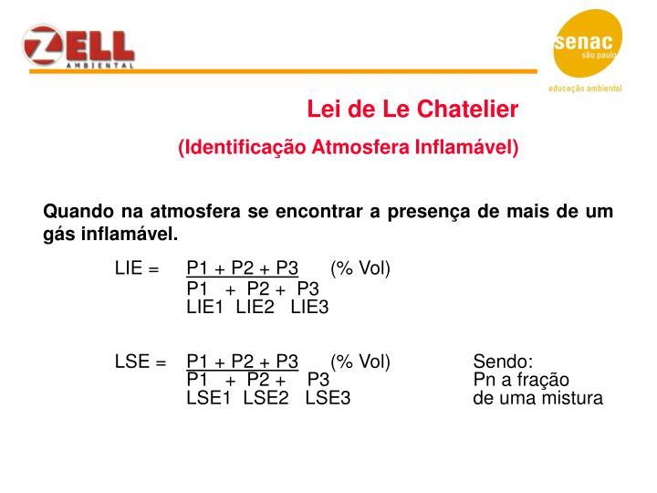 Lei de Le Chatelier