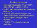 tiroidite post partum