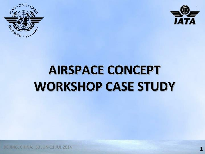 airspace concept workshop case study n.