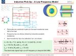 inductive pick up a low frequency model