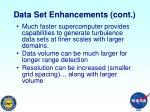data set enhancements cont1