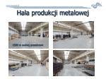 hala produkcji metalowej