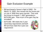 gain exclusion example