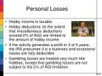 personal losses1