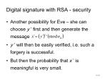 digital signature with rsa security2