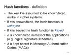 hash functions definition1