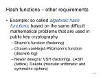 hash functions other requirements2