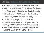council for aboriginal affairs