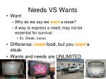 needs vs wants1