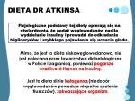 dieta dr atkinsa