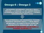 omega 6 omega 31