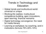 trends in technology and education