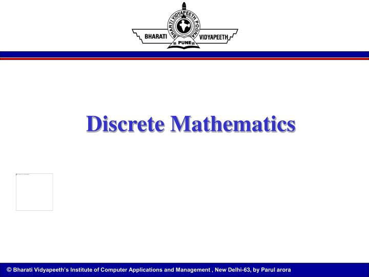 discrete mathematics n.
