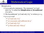 mathematical logic8