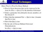 proof techniques3