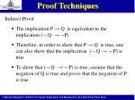 proof techniques4