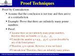 proof techniques5