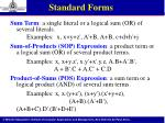 standard forms1