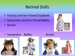 retired dolls