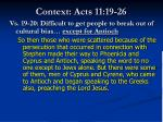 context acts 11 19 26